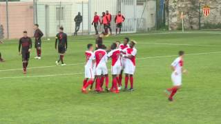 Les U19 remportent le derby contre Nice ! - AS MONACO
