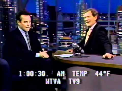 Phil Hartman on Letterman