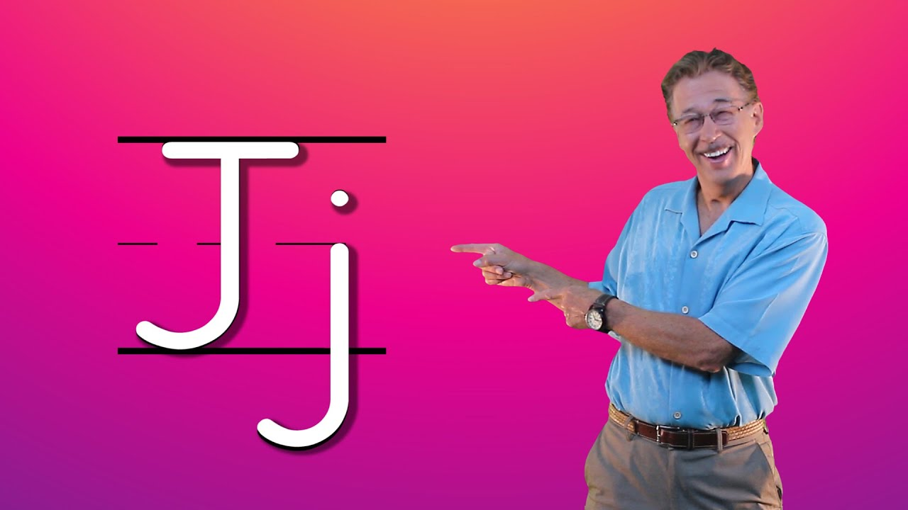 Learn The Letter J Lets Learn About The Alphabet Phonics Song