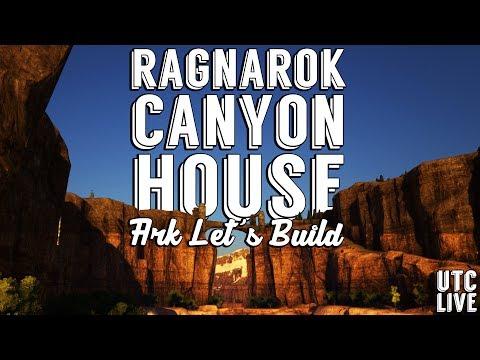 ARK LIVE LET'S BUILD :: Ragnarok Canyon House Buildstorming :: UTC Live [PATREON.COM/UTC]