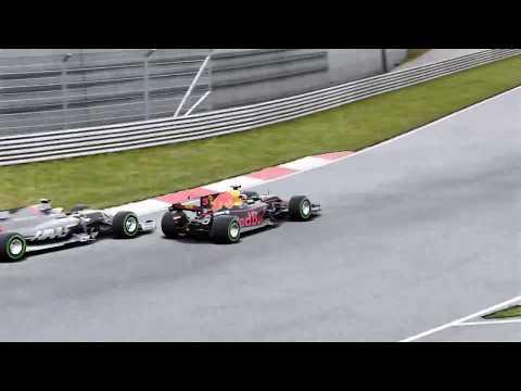 Entrenando en agua. F1 2017 Ricciardo - China