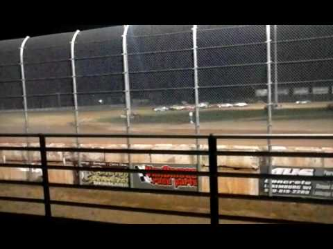 IMCA Stock Car B-Mains Luxemburg Speedway  8-26-16