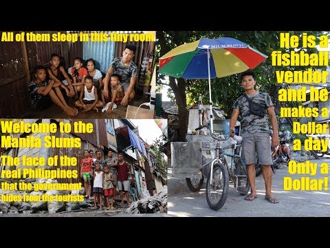 We Traveled to Manila Philippines and Saw POVERTY. We Went to Manila Slums and Met Poor Families