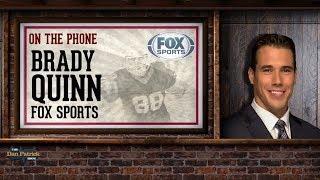 FOX Sports' Brady Quinn Talks USC/Stanford, Harbaugh & More w/Dan Patrick | Full Interview | 9/17/18