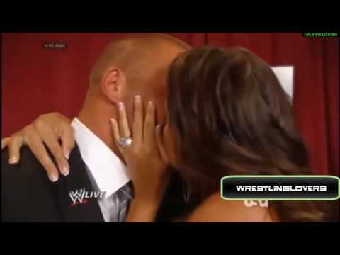 WWE Top 5 kiss Stephanie McMahon