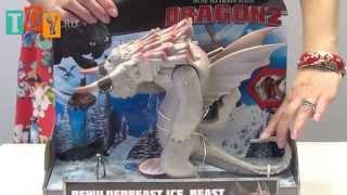 Игрушки Дрэгонс (Dragons) Большой ледяной дракон