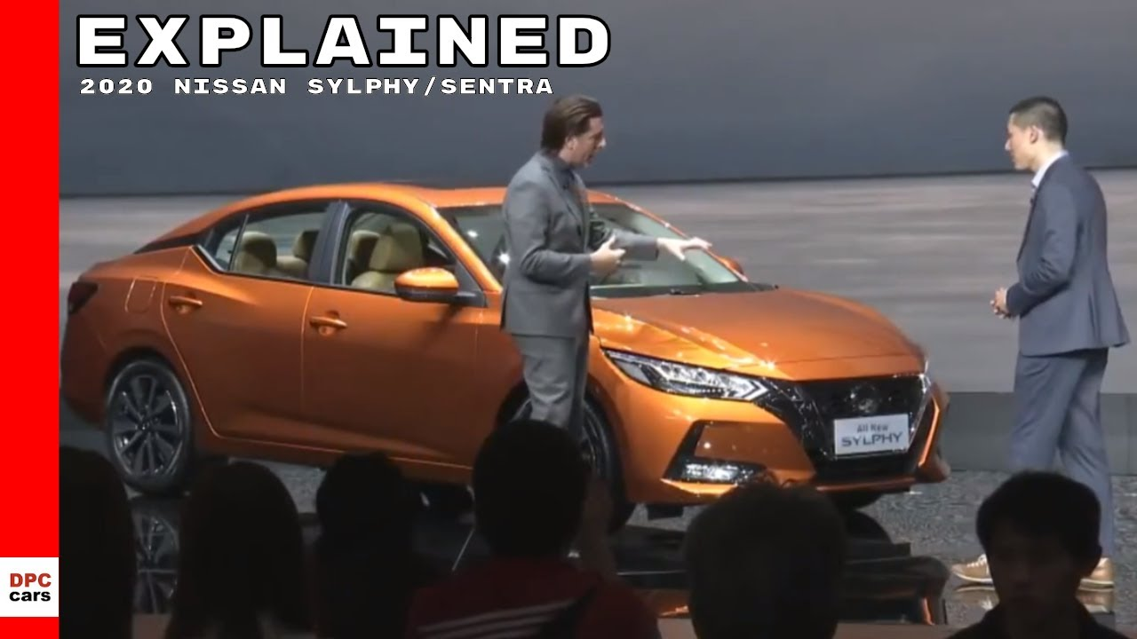2020 Nissan Sylphy Sentra Explained Youtube