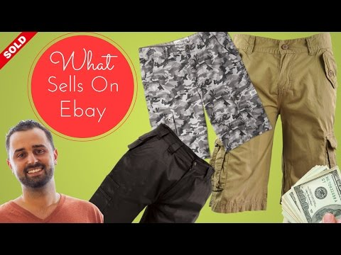 What Sells On Ebay - 11 Ridiculously Profitable Cargo Shorts That Sell On Ebay
