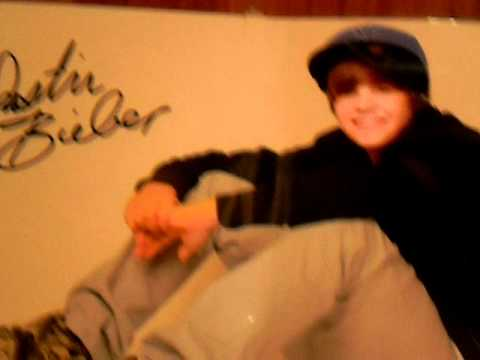 FREE Justin Bieber Poster (Laminated,and Autographed)