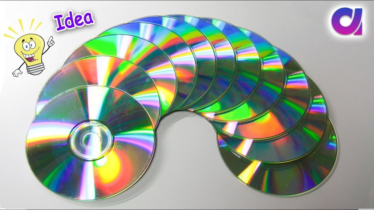 Genius Way To Reuse Old Cd Old Cd Craft Ideas Best Out Of Waste