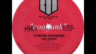 "Tyrone Brunson - The Smurf (12"" Electro-Funk 1982)"