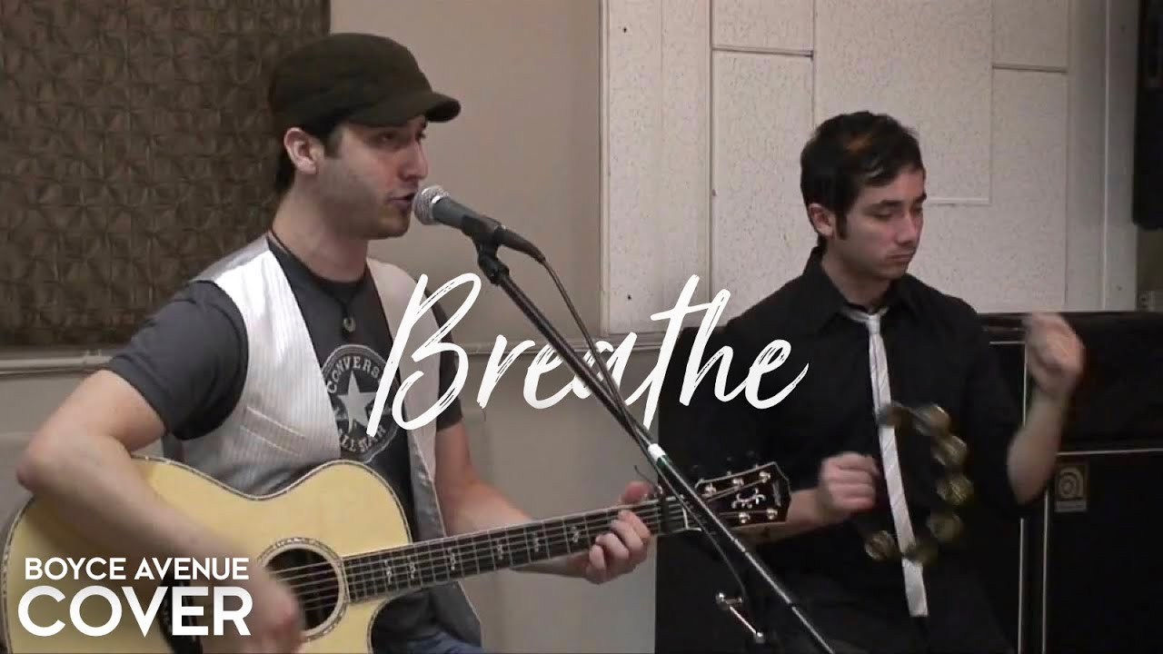 Taylor Swift / Colbie Caillat — Breathe (Boyce Avenue acoustic cover) on Spotify & Apple