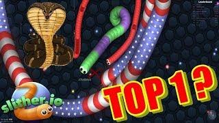 SLITHER.IO - BUSCANDO EL TOP 1
