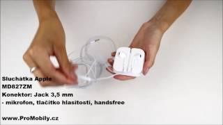 Ukázkové video - Originální sluchátka Apple MD827ZM bílá