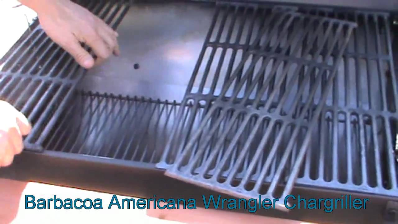 barbacoa americana wrangler chargriller de comercial laga