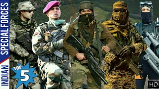 Top 5 Special Forces Of India - Indian Special Forces (Hindi)