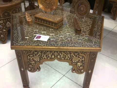 uzbek woodcarving