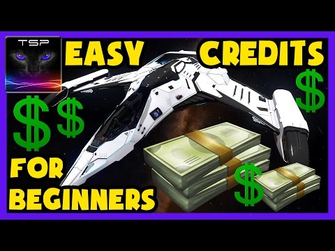 Elite Dangerous - HOW to make EASY CREDITS (25-50mil / 1h) for Beginners