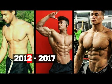 Onome Egger - Incredible Natural 5 years Body Transformation | Fitness Motivation