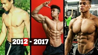 Onome Egger - Incredible Natural 5 years Body Transformation   Fitness Motivation