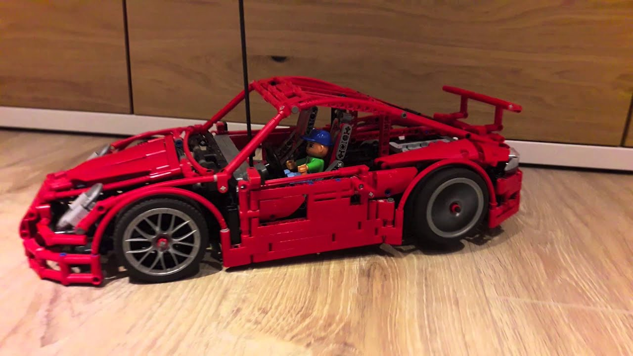 lego technic rc porsche youtube. Black Bedroom Furniture Sets. Home Design Ideas