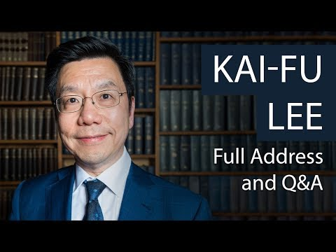 Kai-Fu Lee | Full Address & Q&A | Oxford Union