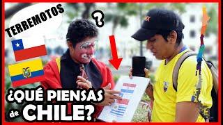 ¿Qué saben de CHILE 🇨🇱 los Ecuatorianos 🇪🇨? Test de Geografía - Ecuador   Peruvian Life
