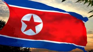Northern Korea *  Anthem Aegukka  synchronized music by Larysa Smirnoff
