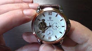 Механические наручные часы с автоподзаводом из Китая. Дешевые китайские часы с Gearbest.