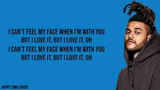 Download song CAN'T FEEL MY FACE - THE WEEKND (Lyrics)