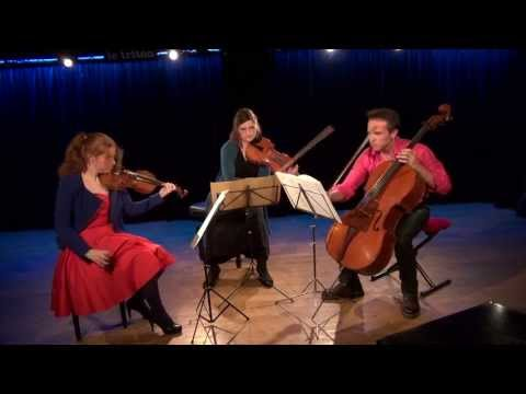 Schnittke Trio for violin viola and cello (1985) COMPLETE / DARMON - GILL - MASLENNIKOV (live)