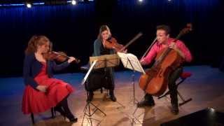 Schnittke Trio for violin viola and cello (1985) COMPLETE / DARMON - GILL - MASLENNIKOV (live)