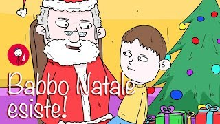 Babbo Natale esiste!