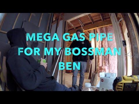 Viega MegaPress fittings used on galvanized gas line