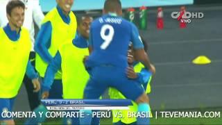 Perú vs. Brasil (0-2) - Fecha 12 de las Eliminatorias Rusia 2018 | Resumen y Goles en HD 15/11/2016