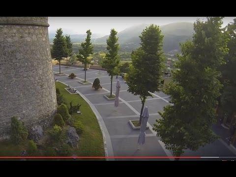 Celano nei pressi del castello