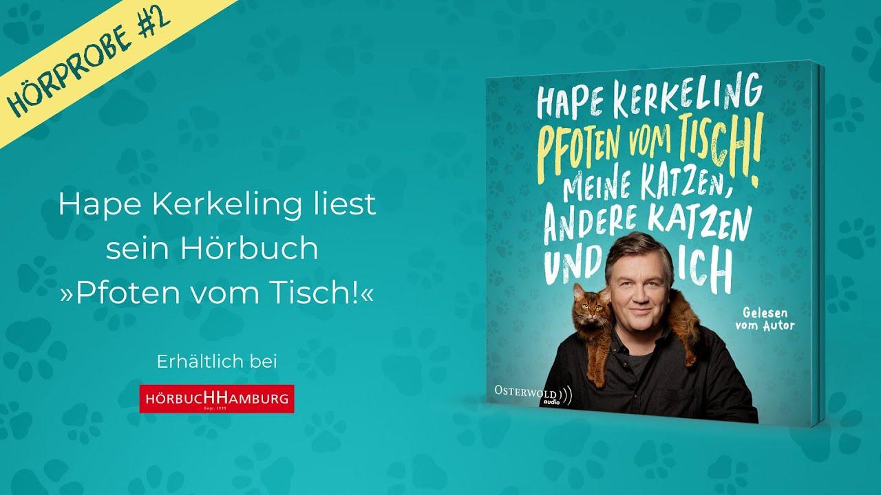 Hörprobe 2: Hape Kerkeling liest sein neues Hörbuch »Pfoten vom Tisch!«