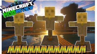 MMMMMMMMMMMM Mod (Muñeco De Pruebas) Minecraft 1.8/1.6.4 ESPAÑOL REVIEW