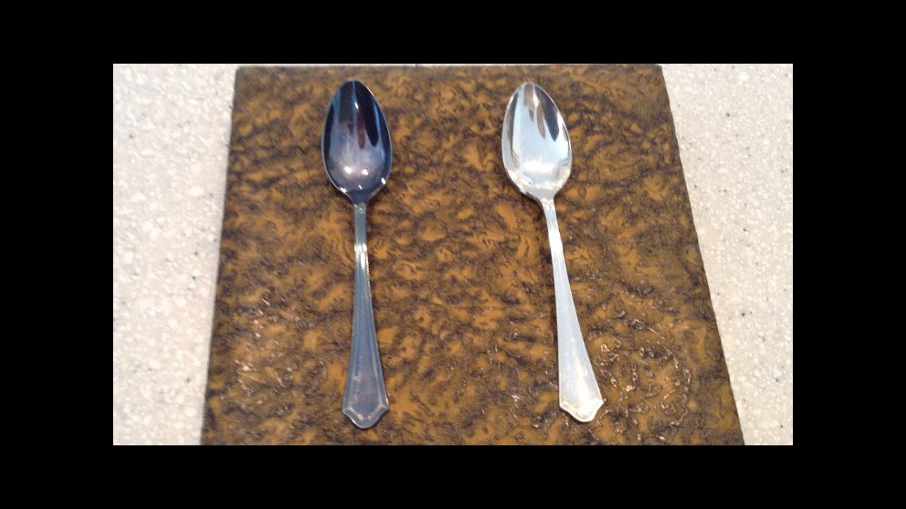 silverware vinegar polishing