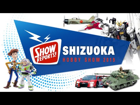The Latest Scale Model News From Shizuoka Hobby Show 2019
