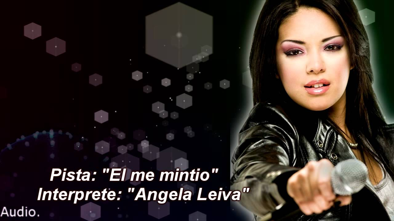 El Me Mintio Angela Leiva Pista Instrumental Karaoke