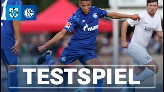RELIVE Testspiel gegen Stadtauswahl Bottrop  FC Schalke 04