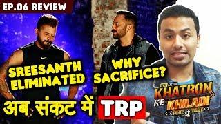 sreesanth-sacrifices-for-ridhima-eliminated-khatron-ke-khiladi-9-ep-06-review