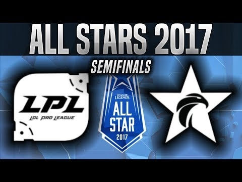 LPL vs LCK - Game 3 - 2017 All-Star Semifinals - China vs Korea G3 League of Legends All-Star 2017
