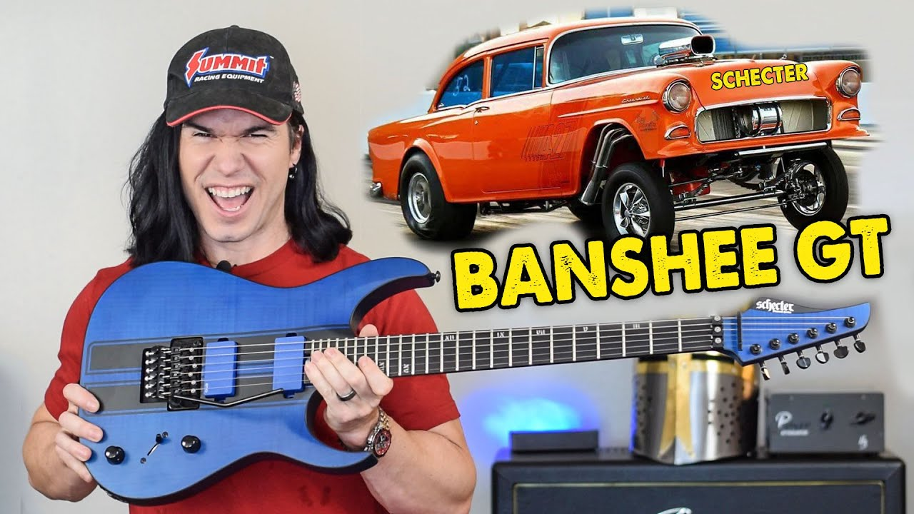Schecter's New BANSHEE GT is MADE TO GO FAST (and look great doing it!)