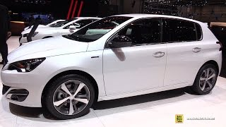 Video 2015 Peugeot 308 GT Line - Exterior and Interior Walkaround - 2015 Geneva Motor Show download MP3, 3GP, MP4, WEBM, AVI, FLV Juli 2018