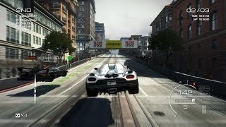 Grid Autosport PC: Multiplayer Race - Koenigsegg Agera R in San Francisco, Street Discipline