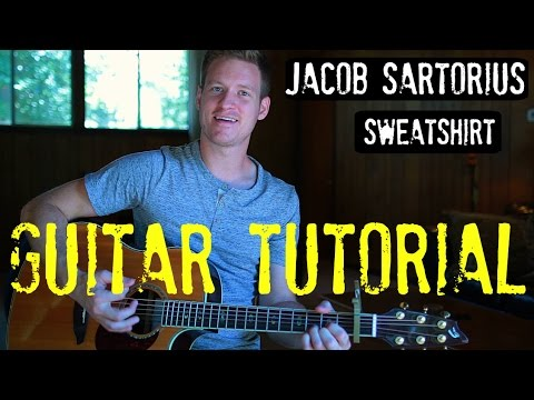 Jacob Sartorius - 'Sweatshirt' - Guitar Tutorial!