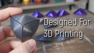 Making a Reuleaux Tetrahedron 3D Printable in Fusion 360