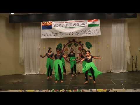 AZ Telugu Association Diwali 2017- Kids Dance - Flute Instrumental
